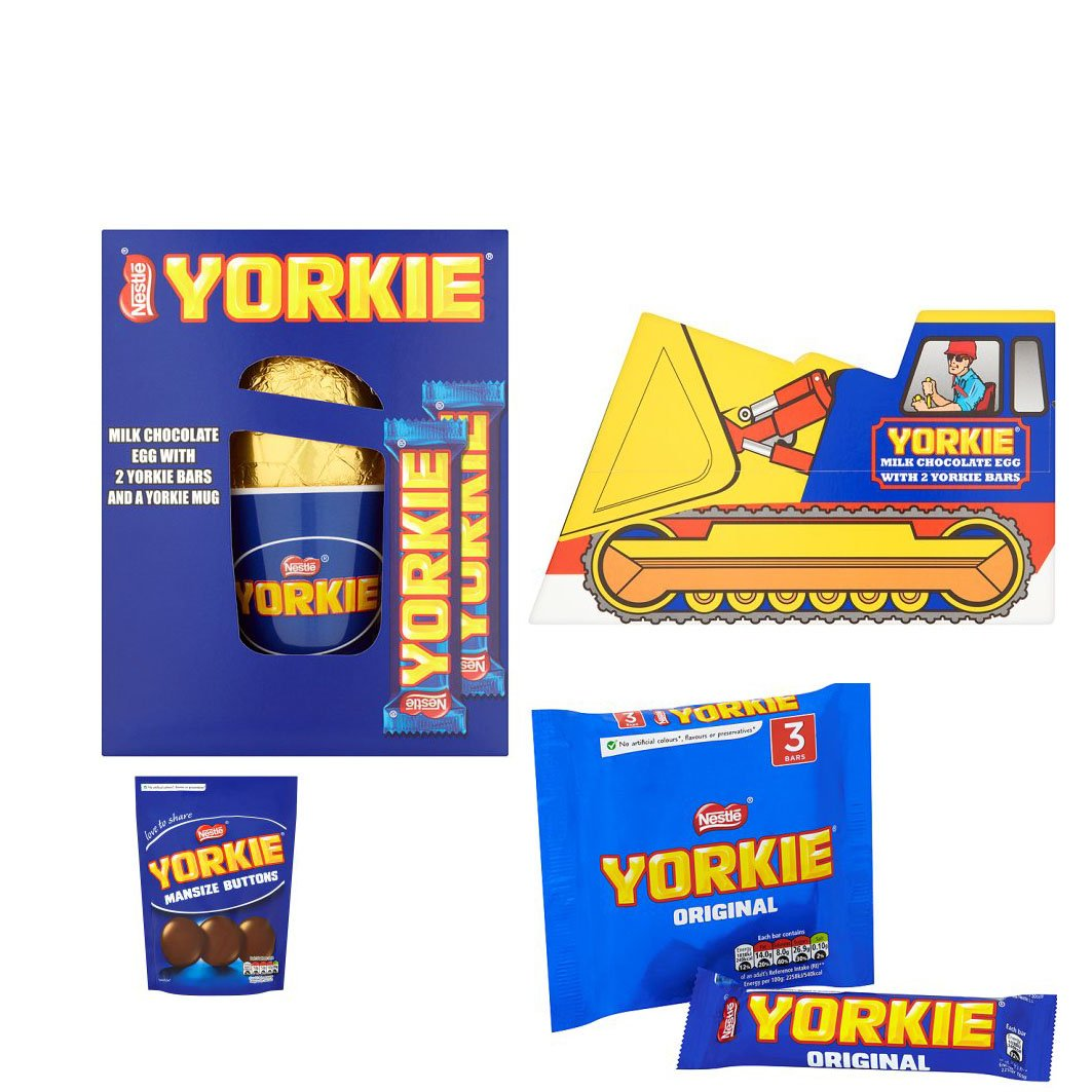 The Yorkie Man Size Buttons Vintage Digger Easter Egg Collection By