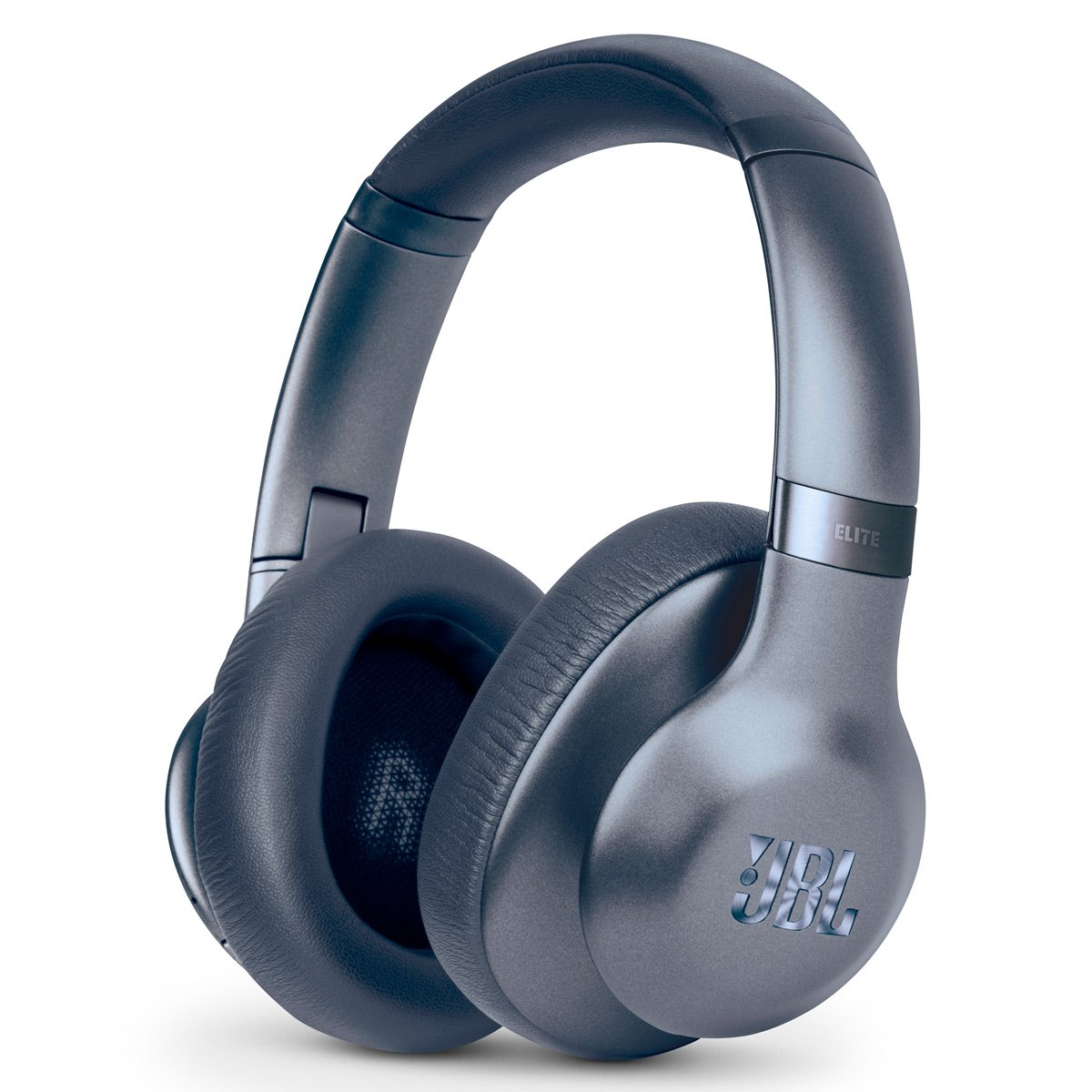JBL Everest Elite 750NC Wireless Over-Ear Adaptive Noise-Cancelling Headphones (Blue) by JBL