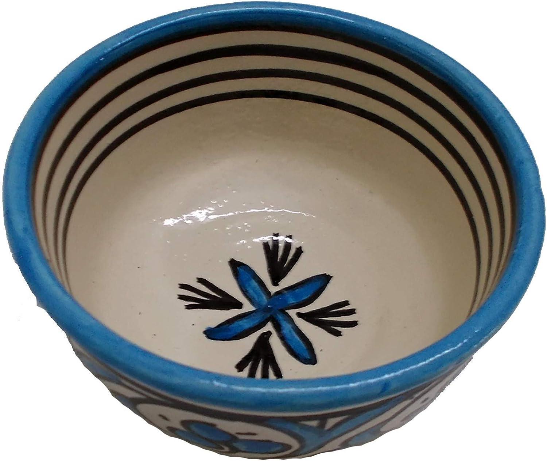Etnico Arredo Ciotola Porta Salse zuppa marocchina spezie Ceramica Terracotta 0711181702