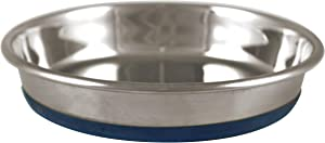 OurPets Durapet Stainless Steel Cat Dish, 1.75 cups