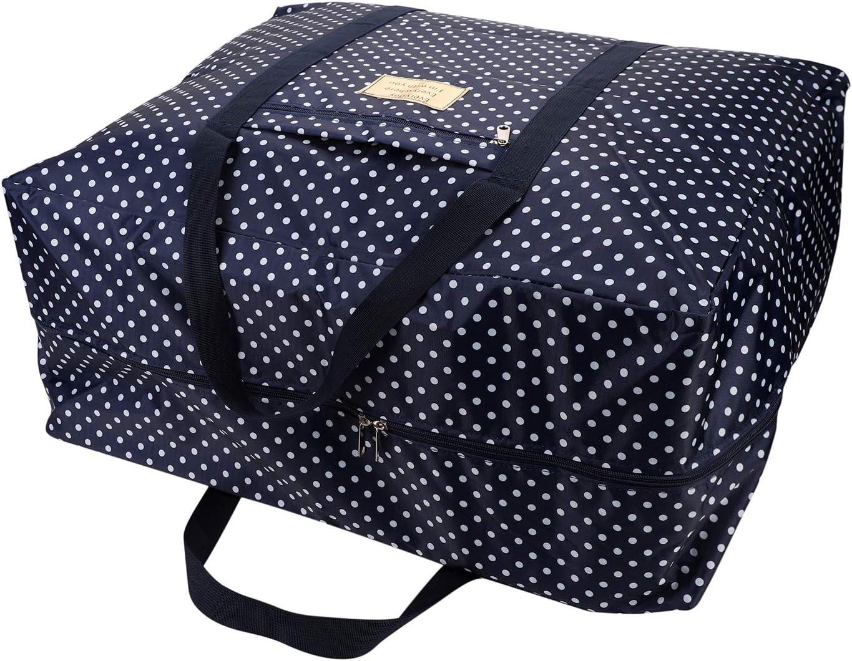 bolsa de equipaje bolsa organizador de almacenaje de ropa manta edredones antibacterias antipolvo Bolsa Bolsa de equipaje maleta