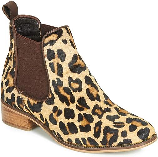 Ravel Leopard-Print Gisborne Leather
