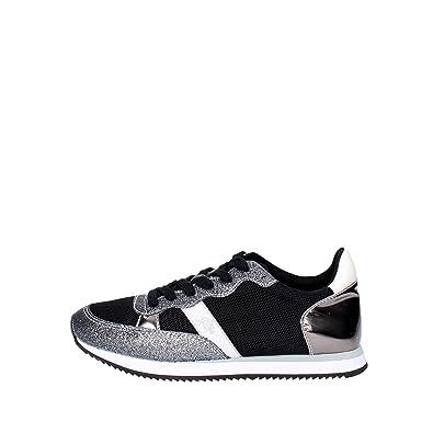U.s. Polo Assn NOBIW4132S7/MY3 Zapatillas Mujer Negro/Plata 36 ...