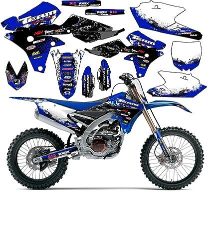 Amazon.com: Team Racing Graphics kit for 2000-2007 Yamaha TTR 125 ...