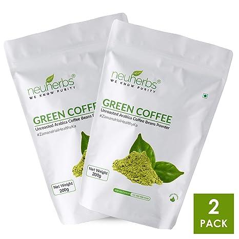 Buy Neuherbs Organic Green Coffee Beans for weight Loss 200g