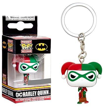 Amazon.com: Funko POP! Keychain - DC Harley Quin ...