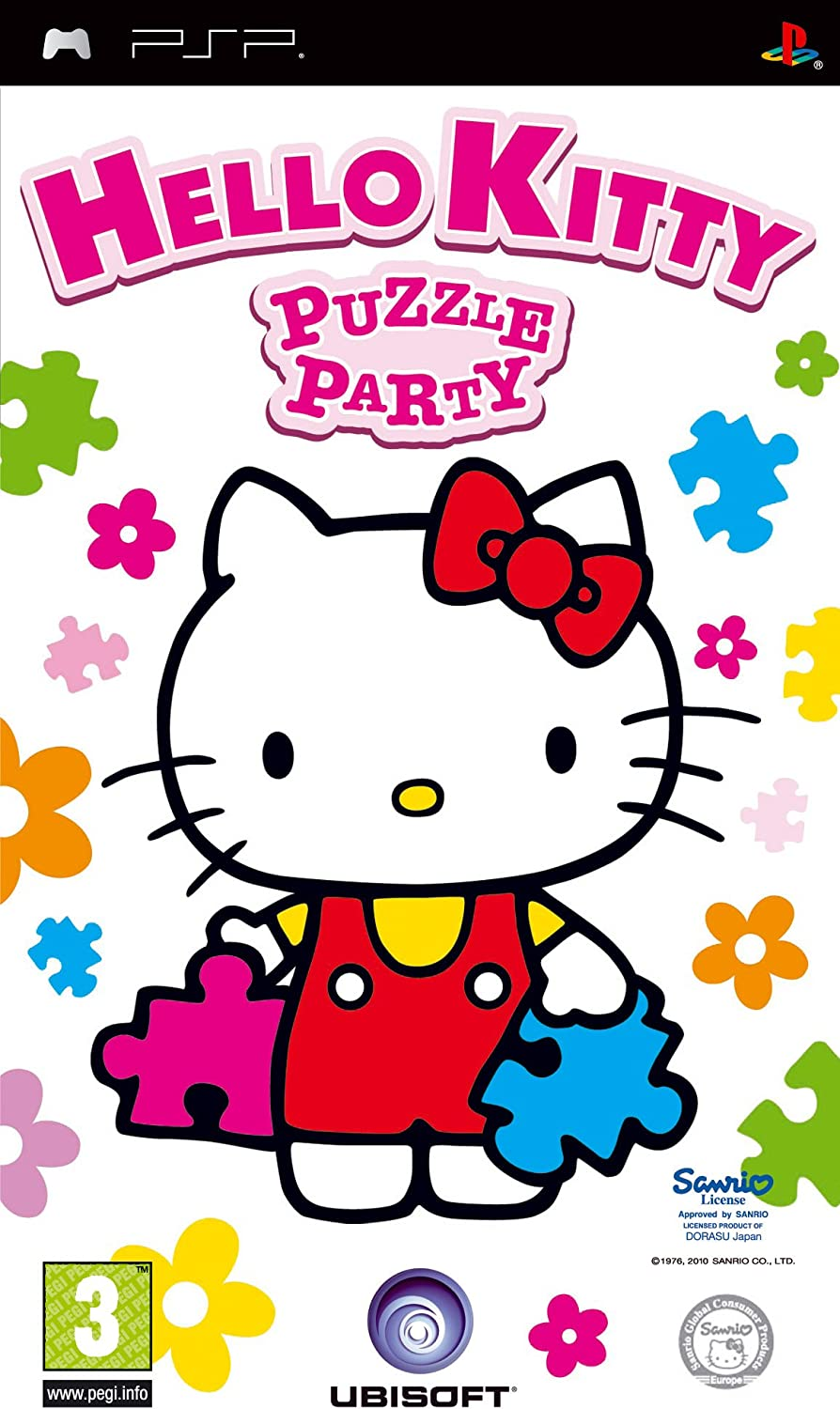 Ubisoft Hello Kitty: Puzzle Party (PSP) vídeo - Juego (PlayStation Portable (PSP), Rompecabezas)