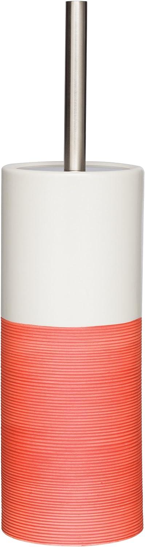 Sealskin Doppio Spazzola per Toilette Corallo 10.1 x 10.1 x 38.3 cm Porcellana