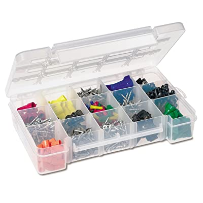 Akro-Mils 5805 Plastic Parts Storage Case For Hardware & Craft, Medium - Plastic Storage Bins - .com
