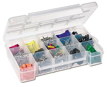 Akro Mils 5805 Plastic Parts Storage Case For Hardware And Craft, Medium
