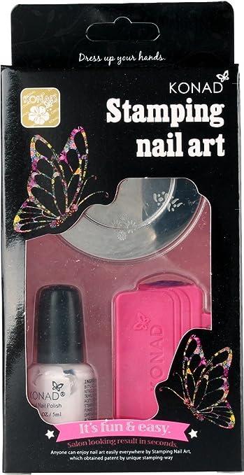 Amazon Konad Stamping Nail Art Set Care Ca Nail Art