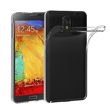 iVoler Funda Carcasa Gel Transparente Compatible con Samsung Galaxy Note 3, Ultra Fina 0,33mm, Silicona TPU de Alta Resistencia y Flexibilidad