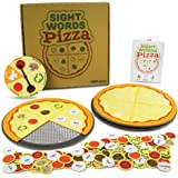 Pint-Size Scholars Sight Words Pizza Board Game, 120 Dolch & Fry Vocabulary Words for Reading & Spelling Readiness (1-4 players)