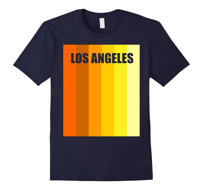 Los Angeles Silhouette Shirt - Retro Vintage Classic T-Shirt-Vaci
