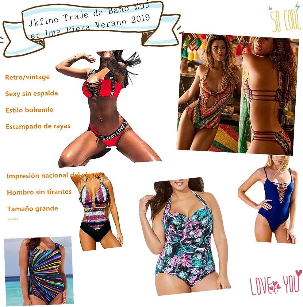 TUDUZ Mujeres Bikini Falda de ba/ño Tankini Pocket Vestido Corto de Playa Traje de ba/ño Pantalones