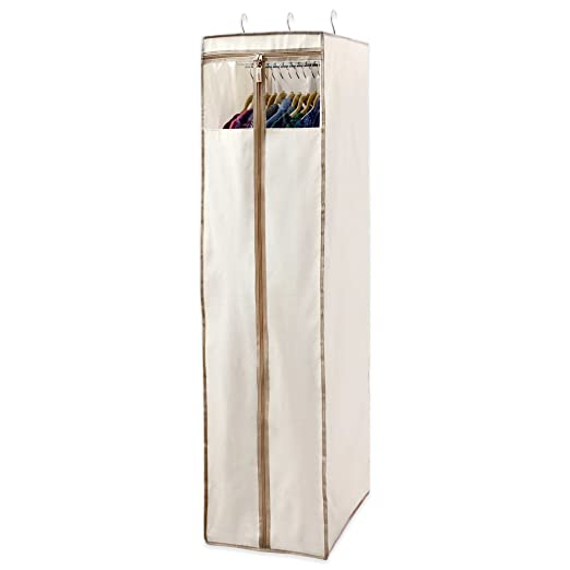 Amazon.com Real Simple® Garment Wardrobe Storage Bag Easy to Store Wardrobe Protected Home u0026 Kitchen  sc 1 st  Amazon.com & Amazon.com: Real Simple® Garment Wardrobe Storage Bag Easy to Store ...