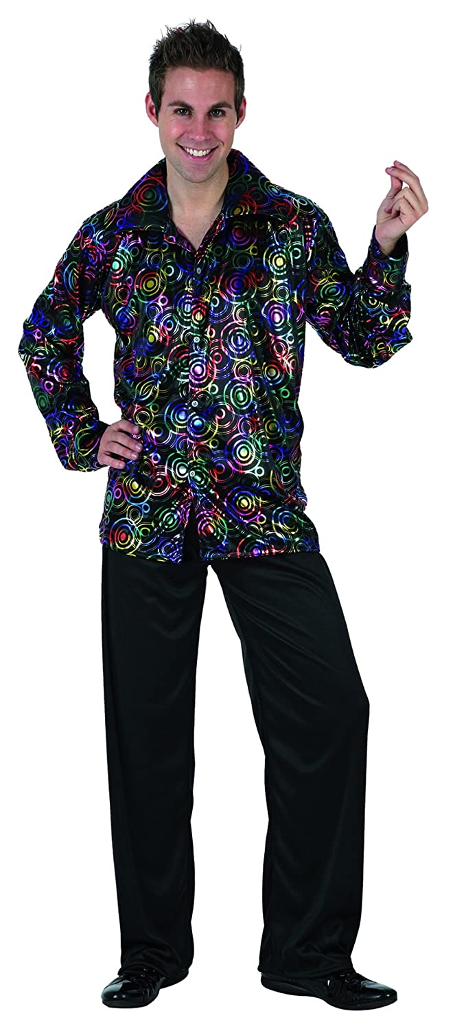 04c586f30b4 Amazon.com  UrAmmi Way 70S Men s Disco Costume Party Clothes Outfit   Clothing