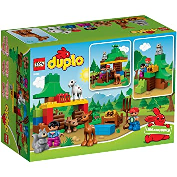 LEGO 10582 - Duplo Foresta Animali: Amazon.it: Giochi e giocattoli