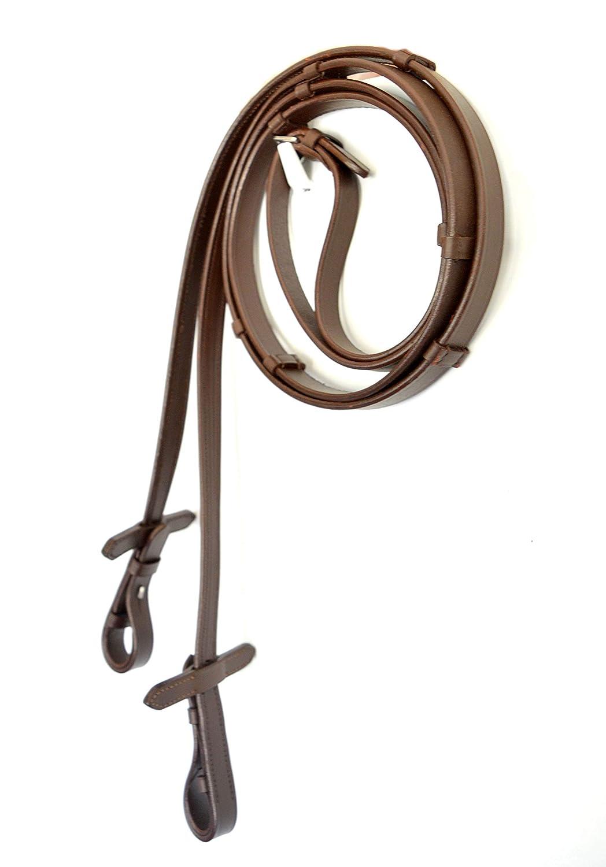 SIE Premium Dressage Bridle with Crank Noseband Brown Full//Cob