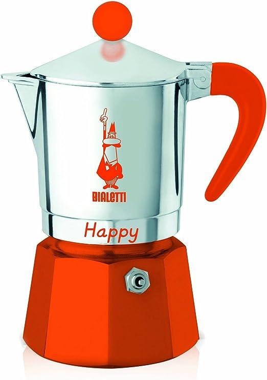 Amazon.com: Bialetti 0008042 feliz con 3 tazas cafetera ...