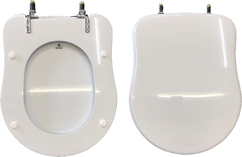 Copriwater ANTALIA DOLOMITE compatibile laccato bianco lucido poliestere