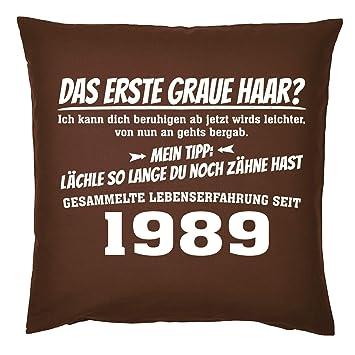 Tini Shirts 30 1989 Sprüche Kissen Zum 30 Geburtstag