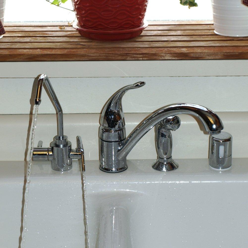 Under-Sink Aqua Ionizer Deluxe Water Ionizer Adapter Faucet by Air Water Life by Air Water Life (Image #2)