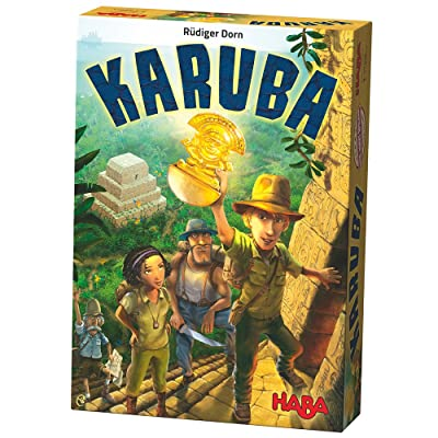 HABA Karuba - An Addictive Tile Laying Puzzle Game for the Whole Family (Made in Germany): Toys & Games