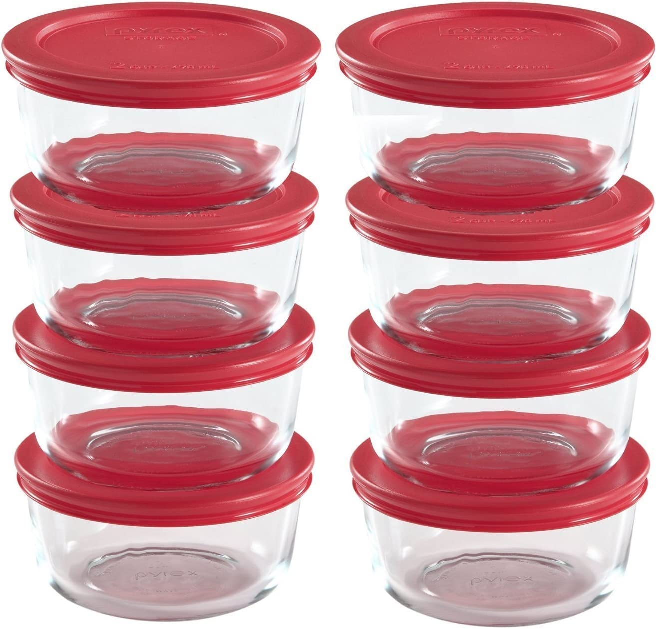 World Kitchen Pyrex 16-Piece Food Storage Set