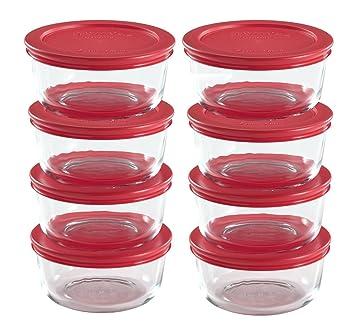 world kitchen pyrex 16 piece food storage set. beautiful ideas. Home Design Ideas