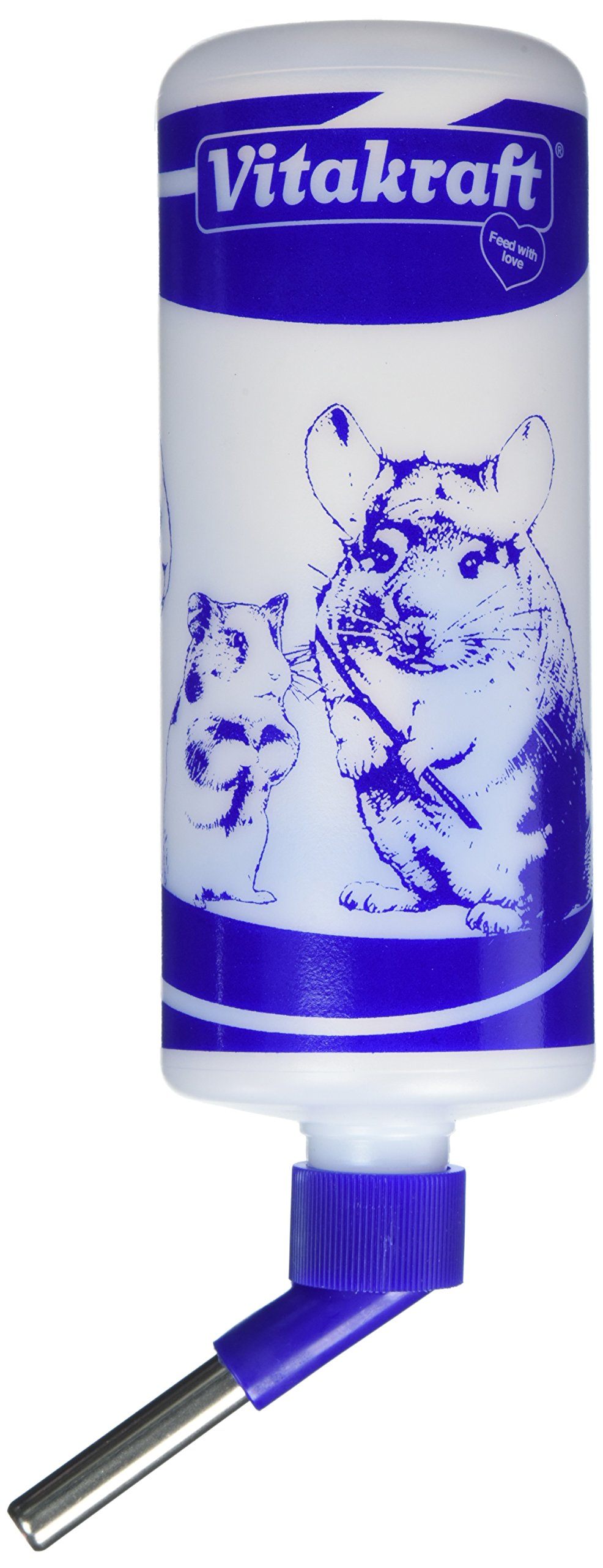 Vitakraft Water Bottle for Small Animals, 32-Ounce