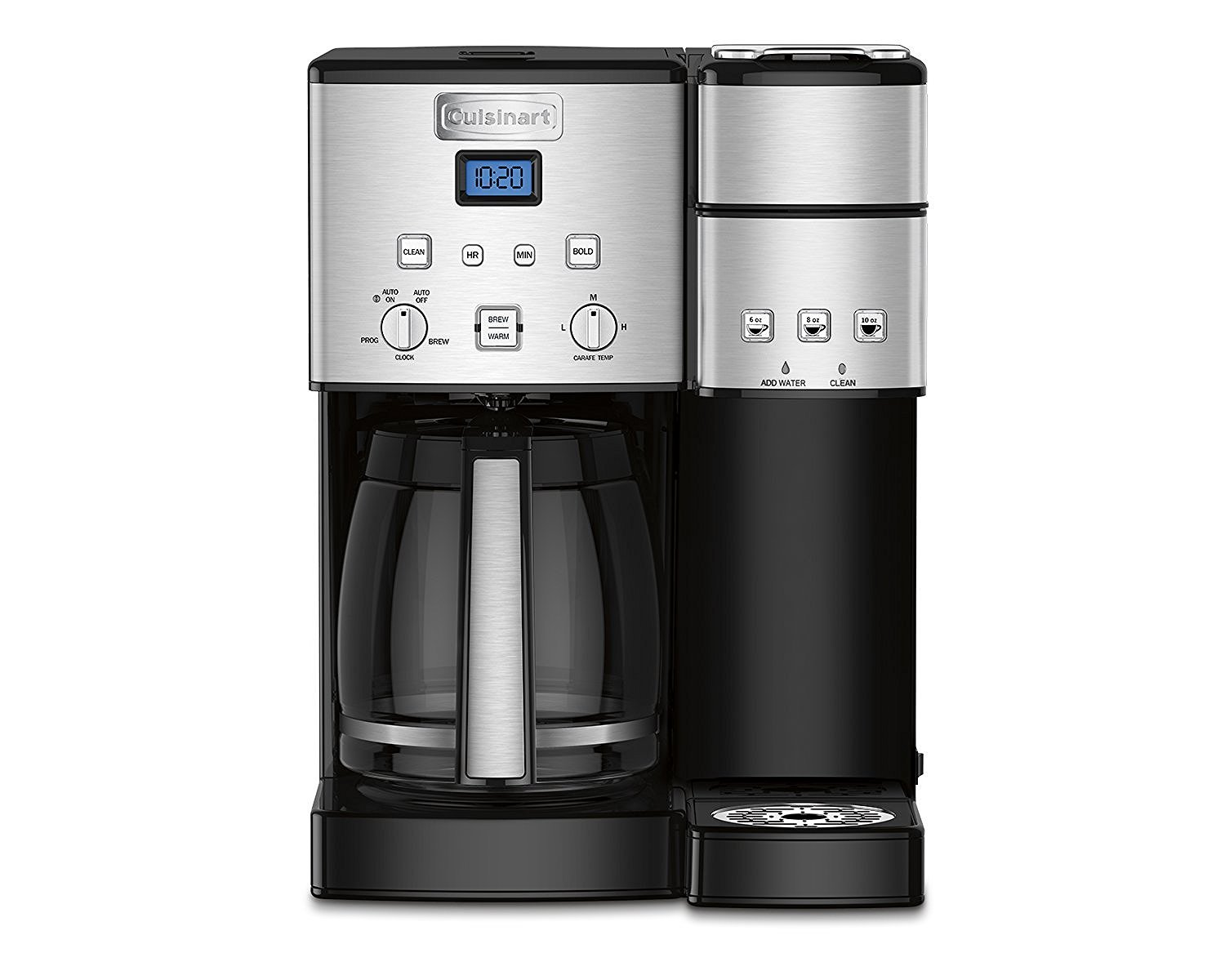 Cuisinart SS-15 12-Cup Coffee Maker and Single-Serve Brewer, Stainless Steel by Cuisinart
