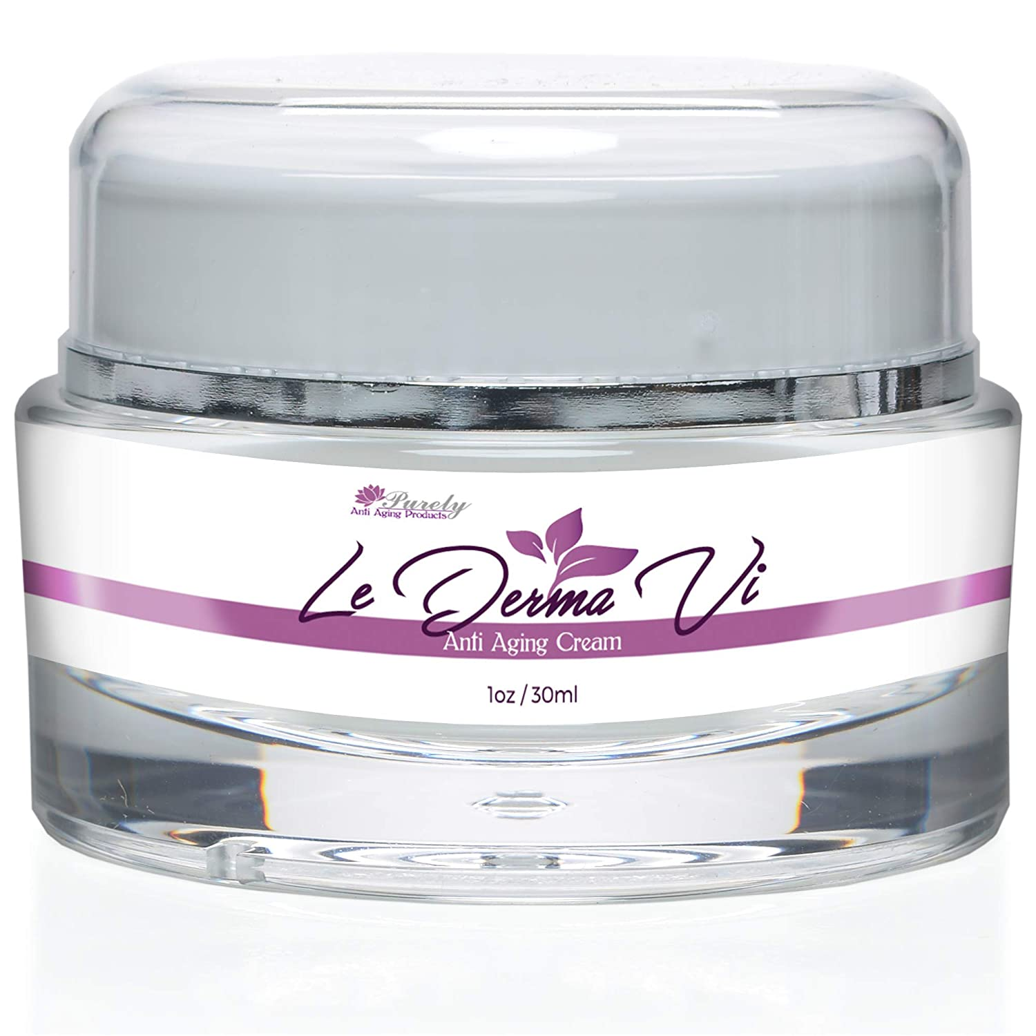 Le Derma Vi - Anti Aging Cream - Restore Your Youthful Beauty and Keep Your Skin Looking Young With Our Best Anti Aging Cream - Prevent The Appearance of Aging with Le Derma Vi Cream