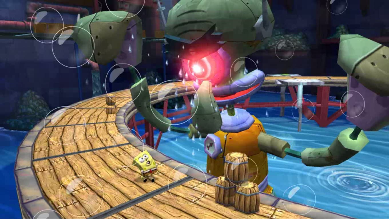 amazon com spongebob truth or square nintendo wii video games