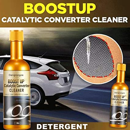 Boost Up Vehicle Engine Catalytic Converter Cleaner Multipurpose Deep Cleaning Garten