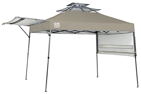 Amazon.com Quik Shade Summit SX170 10u0027x17u0027 Instant Canopy with Adjustable Dual Half Awnings Sports u0026 Outdoors  sc 1 st  Amazon.com & Amazon.com: Quik Shade Summit SX170 10u0027x17u0027 Instant Canopy with ...