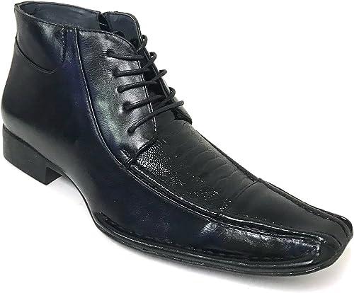| G4U Alberto Fellini GP1S Men's Dress Boots