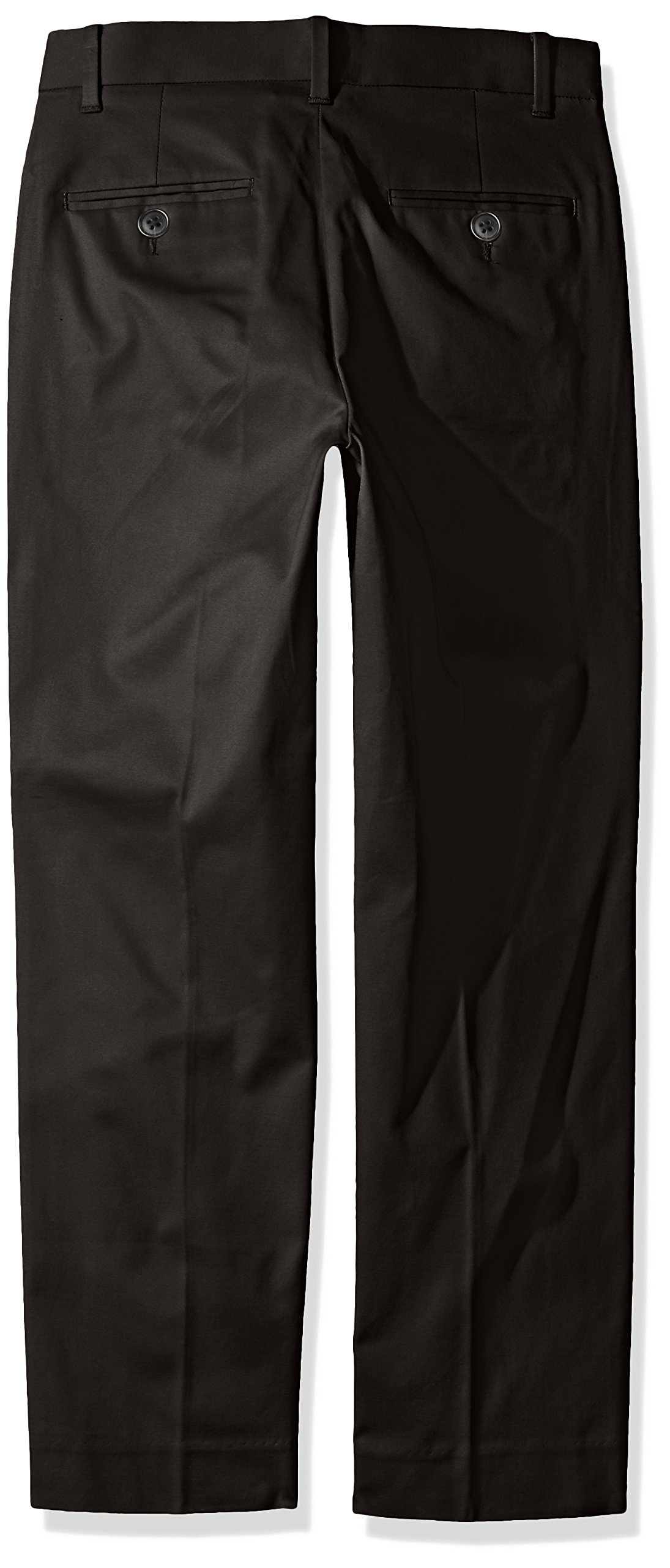 Calvin Klein Little Boys' Fine Line Stretch Twill Pant, Black, 6 by Calvin Klein (Image #2)