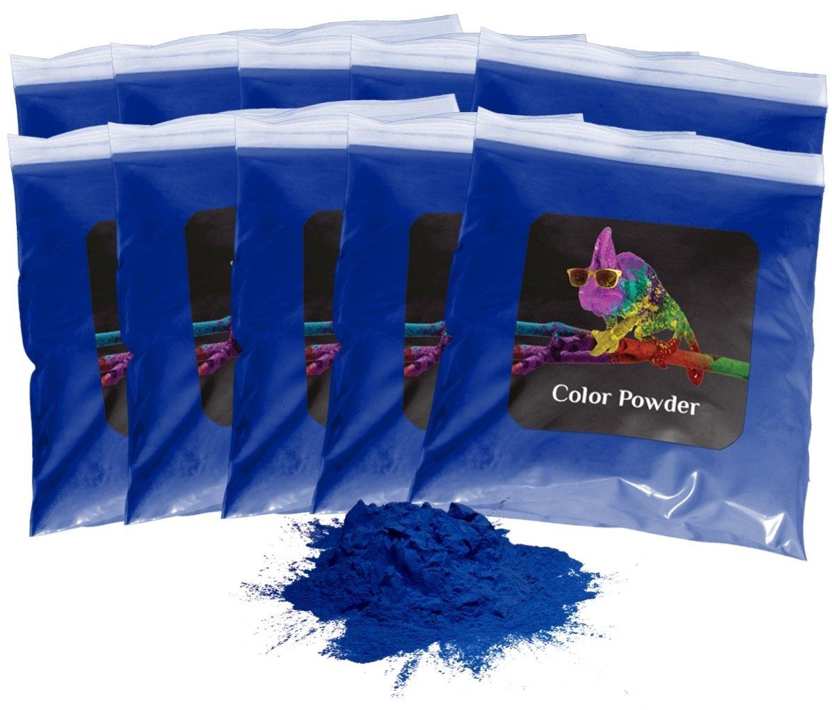 Holi Powder 10pk of 1lb. Navy Blue