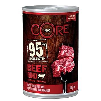 Wellness CORE - Cerveza para Comida de Perro con Broccoli, 400 g, 95% mojada, Pack de 6: Amazon.es: Productos para mascotas