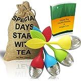 Boule Infuseur à thé feuilles de thé faire du thé Lot de 4 by Tea Secrets