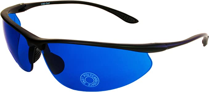 G&G Golf Ball Finder Glasses Blue Lens Sunglasses
