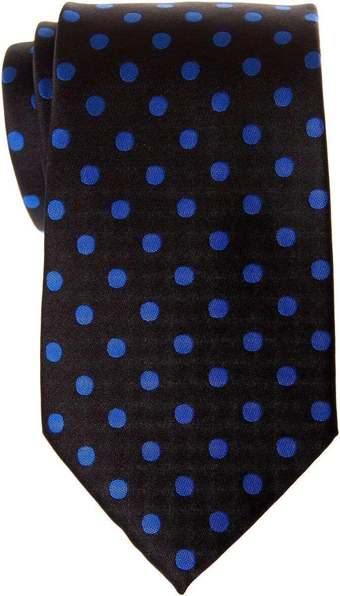 dise/ño de lunares Retreez Corbata de microfibra para hombre varios colores