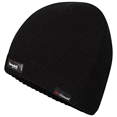 Pro Climate Adults Waterproof and Windproof Thinsulate Beanie Hat   Amazon.co.uk  Clothing 601d4f412f38
