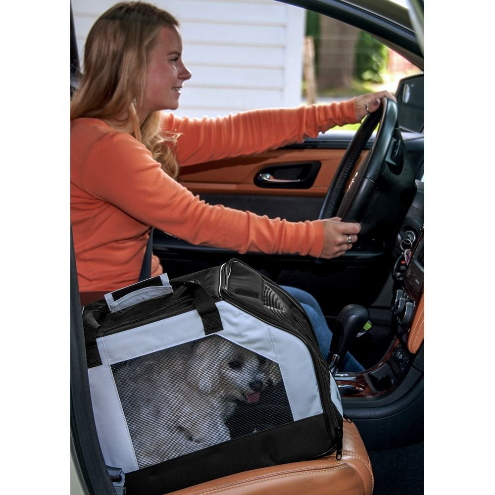 Pet Gear Carseat/Carrier for Cats and Dogs, Park Avenue