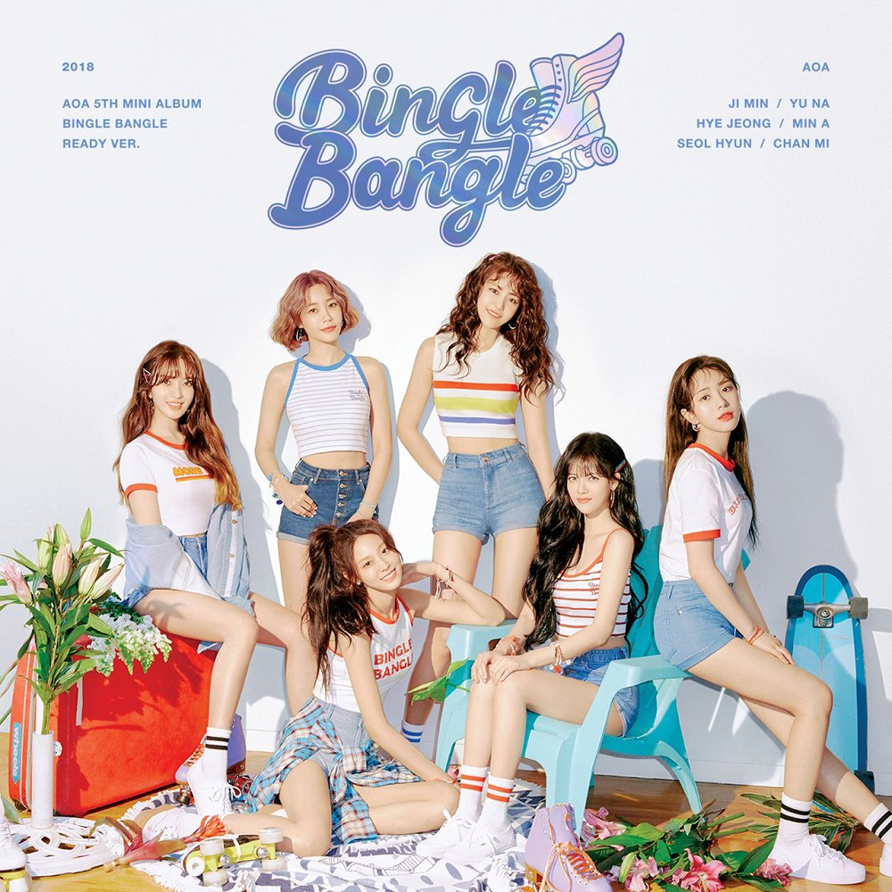 CD : Aoa - Bingle Bangle (ready Version) (Asia - Import)