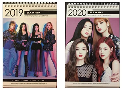 Kpop Fashion 2020.Kpop Blackpink 2019 2020 Photo Desk Calendar With Photo