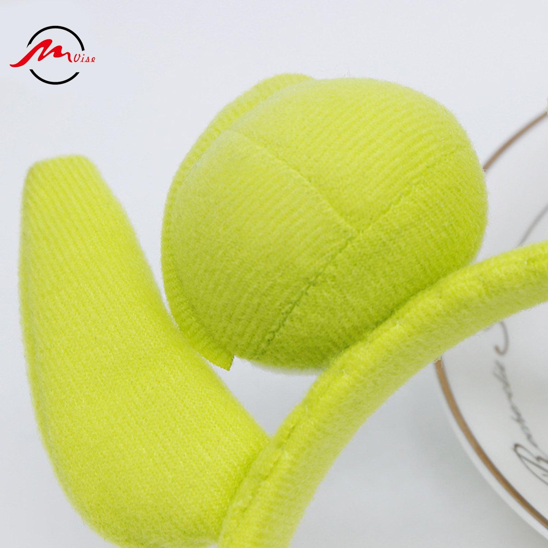 diadema de alien ZMvise pelota de goma Diadema de monstruo verde para fiesta