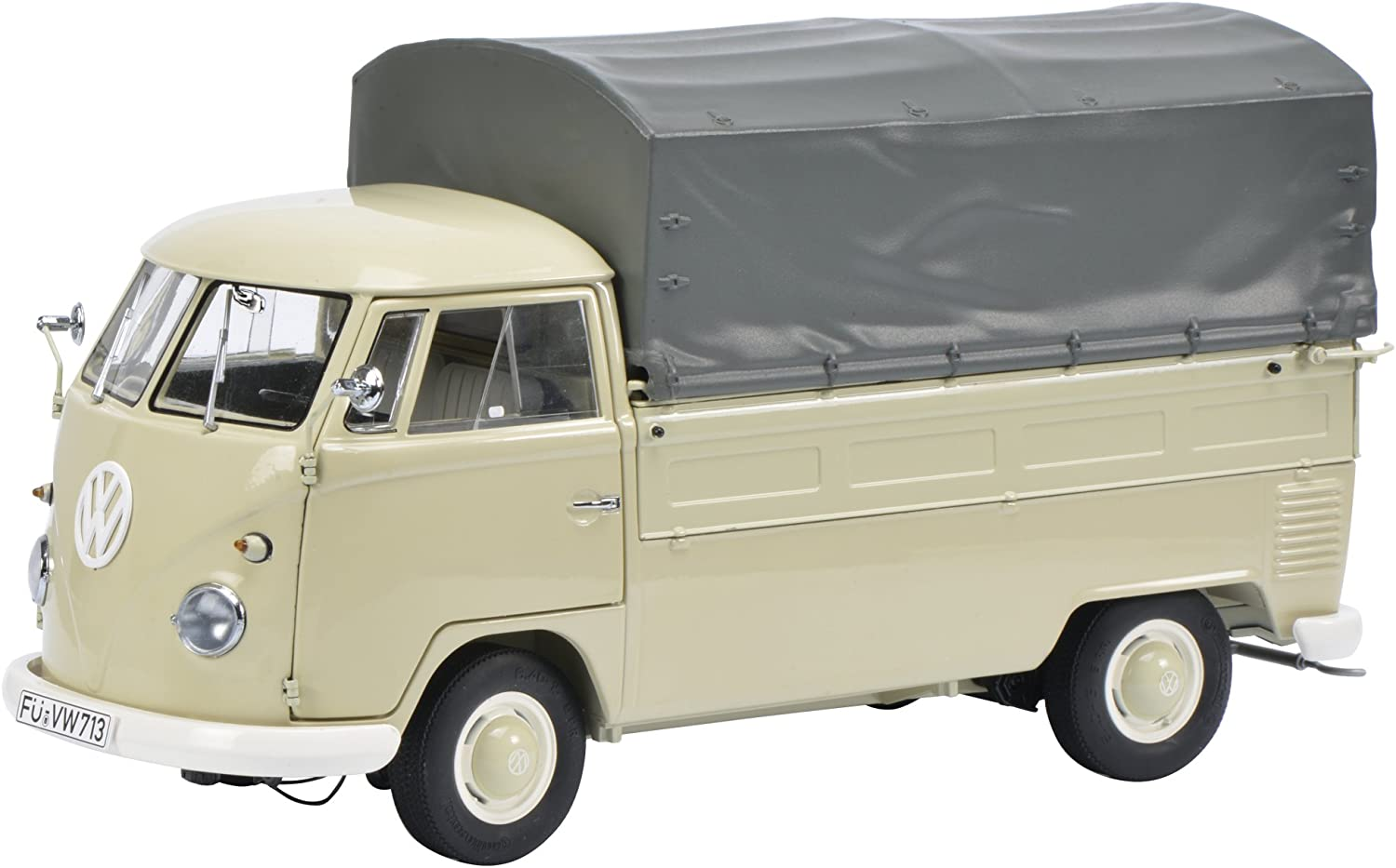 SCHUCO VW T1a Bus with Brezelkäfer body be 1:18 450016300 SALE
