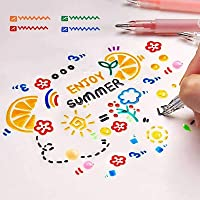 1pc 2 Colors Point Head Waterproof Permanent Marker writing Excellent Pen E1L8